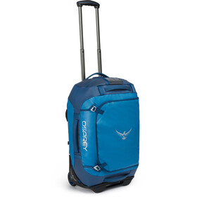 Osprey Rolling Transporter 40 Duffel Bag, kingfisher blue
